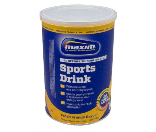 Maxim Hypotonic Sports Drink Orange & Lemon 480 gr.