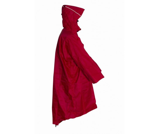 Mac in a Sac Wandelponcho unisex Rood  / Walkingponcho red