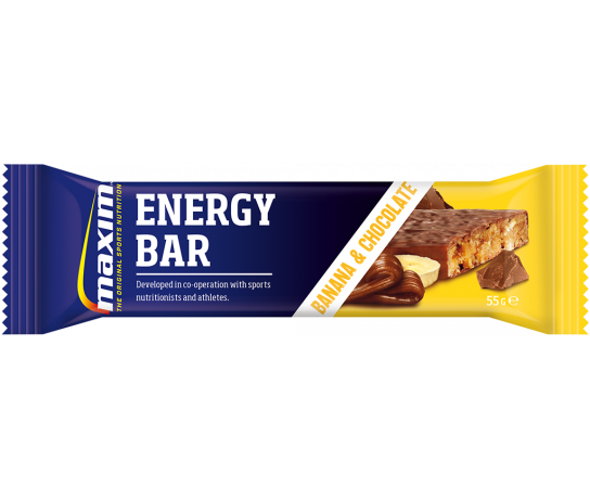 Maxim Energy Bar Banana & Chocolade 55 gr.