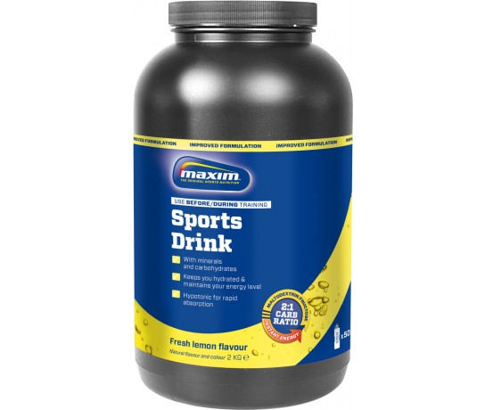 Maxim Hypotonic Sports Drink Lemon & Lime 2 kg.