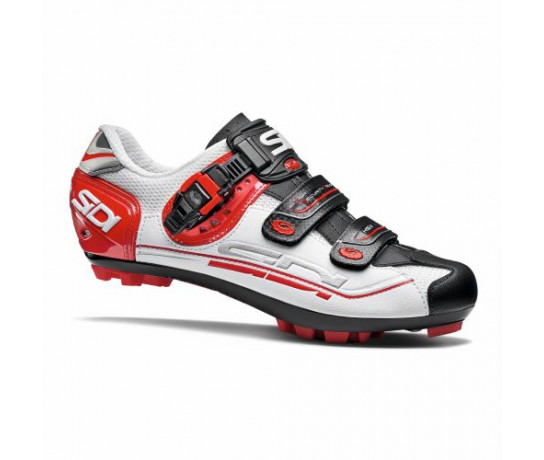 Sidi MTB Fietsschoenen Wit Zwart Heren / Eagle 7 SR MTB White/Black/Red