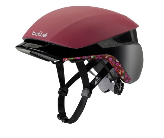 Bollé Messenger Premium / Fietshelm E-bike Burgandy Liberty