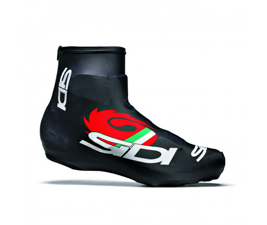 Sidi Overschoenen Time trial Zwart Wit Unisex / Chrono Covershoes Printed (35) Black/White