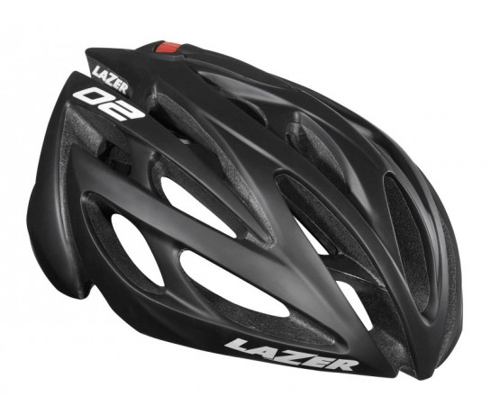 Lazer O2 CE / Fietshelm  Race Black/Mat (also in XL)