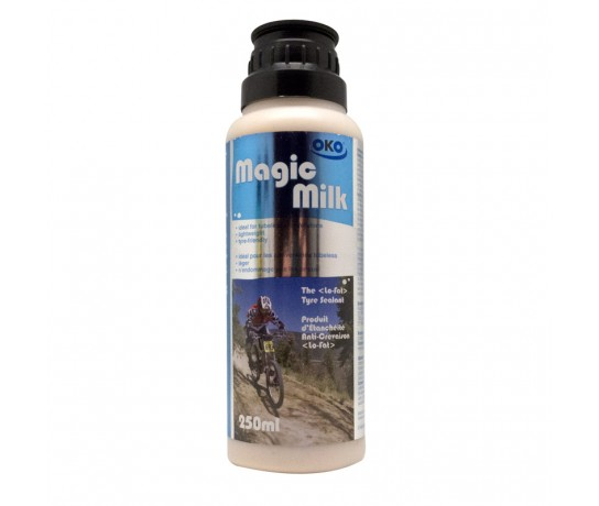 OKO Magic Milk 250 ml / Banden reperatie middel voor tubeless-ready conversies