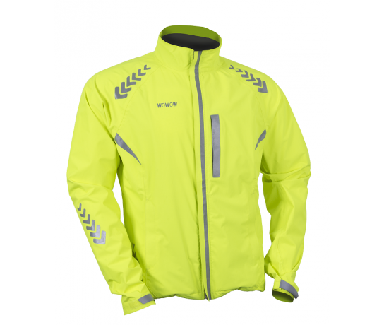 Wowow Prodark bike jacket / Fietsjas Yellow