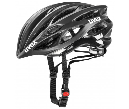 Uvex Fietshelm unisex Zwart  / UV Race 1 Black Mat/Shiny