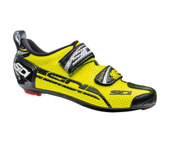 Sidi Race Fietsschoenen Fluo Zwart Heren / T-4 Air Carbon Composite Yellow Fluo/Black