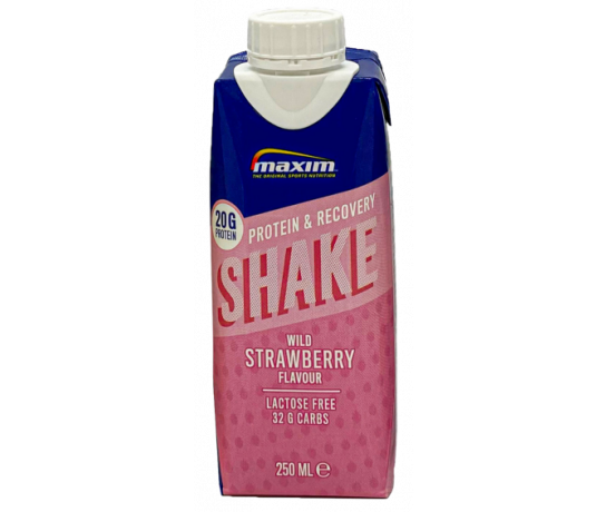 Maxim protein en recovery drink Aardbei - strawberry