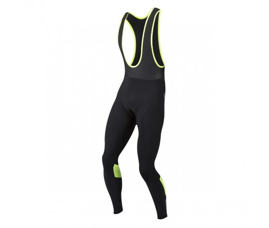 Pearl Izumi Fietsbroek Bretels Lang Cyc Pursuit Thermal Zwart Geel