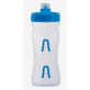 Fabric Bidon 600ML Cageless Transparant-Blauw / Cageless Bottle CLL 600ml