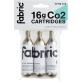 Fabric Co2 patronen 16 gram 3 stuks Grijs- / CO2 Cartridge 16g 3 Pack