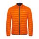 Mac in a Sac Donsjas Heren Oranje Blauw / Polar down jkt Flame/ Navy