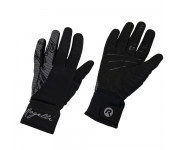 Rogelli Flash Fietshandschoenen winter Dames Zwart