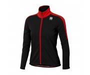 Sportful Team Jacket Junior / Kinder Fietsjack Zwart Rood