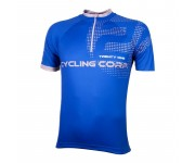 Wielershirt 21Virages Cycling Corp blauw