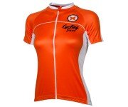 Wielershirt dames 21Virages Twenty One-Orange