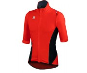 Sportful Fiandre Light NoRain Short Sleeve / Wind/regen Fietsjack korte mouwen Red Fire Black