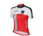 Sportful KID Gruppetto Jersey / Kinder Fietsshirt Red