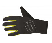 Sportful Fietshandschoenen winter Heren Zwart Fluo / SF Softshell Stretch Glove-Black/Yellow Fluo