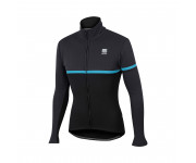 Sportful Fietsjack Heren Zwart Blauw / SF Giara Softshell Jacket-Black/Blue Denim