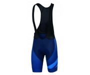 Sportful Fietsbroek Heren Blauw Blauw / SF Bodyfit Team Bibshort Twil Blue/Electric Blue