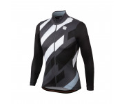 Sportful Fietsshirt lange mouwen Heren Zwart Grijs / SF Volt Thermal Jersey-Black/Anthracite/White