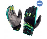 SealSkinz Dragon Eye MTB Glove  / Fietshandschoen Zwart Lime
