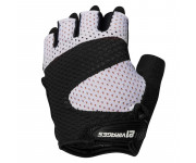 21Virages fietshandschoenen zomer unisex Zwart Wit / Summer cycling glove Airflow Black white
