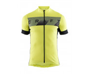 Craft Fietsshirt Heren Lime Zwart / REEL JERSEY M LIME/BLACK