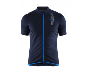 Craft Fietsshirt Heren Blauw  / RISE JERSEY M BLAZE/HAVEN