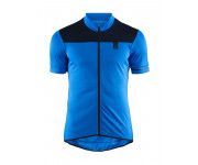 Craft Fietsshirt Heren Blauw  / POINT JERSEY M HAVEN/BLAZE
