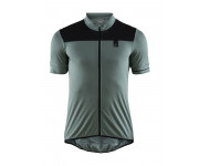 Craft Fietsshirt Heren Grijs Zwart / POINT JERSEY M GRAVITY/BLACK