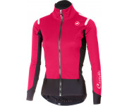 Castelli Fietsjack Dames Roze Zwart / CA Alpha Ros W Light Jacket Electric/Magenta/Black