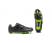 Northwave MTB fietsschoenen Heren Grijs Groen /  REBEL ANTHRACITE/ACID GREEN