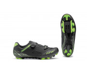 Northwave MTB fietsschoenen Heren Zwart Groen /  ORIGIN PLUS BLACK/GREEN