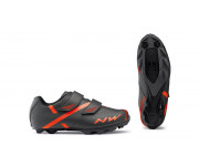 Northwave MTB fietsschoenen Heren Grijs Oranje /  SPIKE 2 ANTHRACITE/ ORANGE