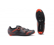Northwave Race fietsschoenen Heren Grijs Oranje /  STORM ANTHRACITE/ LOBSTER ORANGE