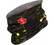 Castelli Bandana Heren Zwart Fluo / CA LW Head Thingy Black/Yellow Fluo
