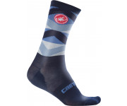 Castelli Fietssokken winter Heren Blauw  / CA Fatto 12 Sock Dark/Infinity Blue
