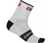 Castelli Fietssokken winter Heren Wit  / CA Rossocorsa 9 Sock White