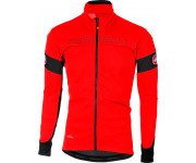 Castelli Fietsjack Heren Rood Zwart / CA Transition Jacket Red/Black