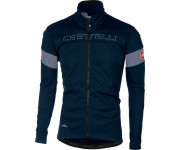 Castelli Fietsjack Heren Blauw Blauw / CA Transition Jacket D Blue/Moonlight/Blue