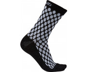 Castelli Fietssokken winter Dames Wit Zwart / CA Sfida 13 Sock White/Black