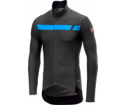 Castelli Fietsjack waterafstotend Heren Grijs  / CA Perfetto Long Sleeve Dark Gray