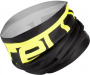 Castelli Bandana voor Heren Zwart Fluo / CA Viva Thermo 2  Head Thingy Black/Yellow Fluo