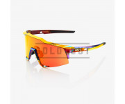 100p Fietsbril voor Heren / Speedcraft Peter Sagan Hiper Lens  Chromium Red
