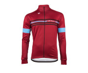 Vermarc Fietsshirt lange mouwen Heren Zwart Rood / ATTACO Long Sleeves NEW - Black/Red