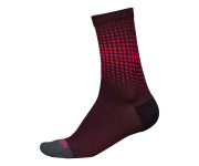 Endura Fietssokken Heren Bordeaux / PT Wave Sok LTD - Mulberry