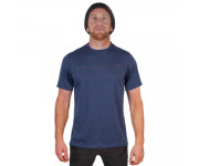 Endura Fietsshirt korte mouwen Heren Blauw / One Clan light T-shirt - Blauw
